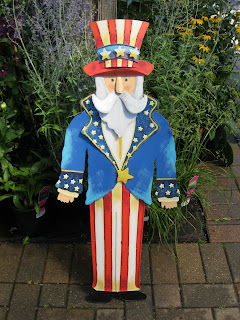 Uncle Sam for the garden