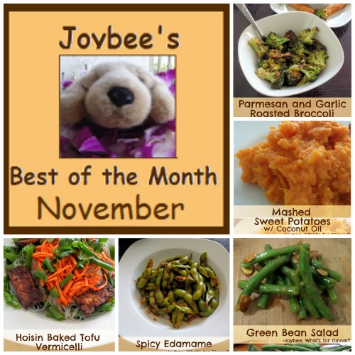 Best of the Month November 2015:  A recap of my most popular posts from November 2015.