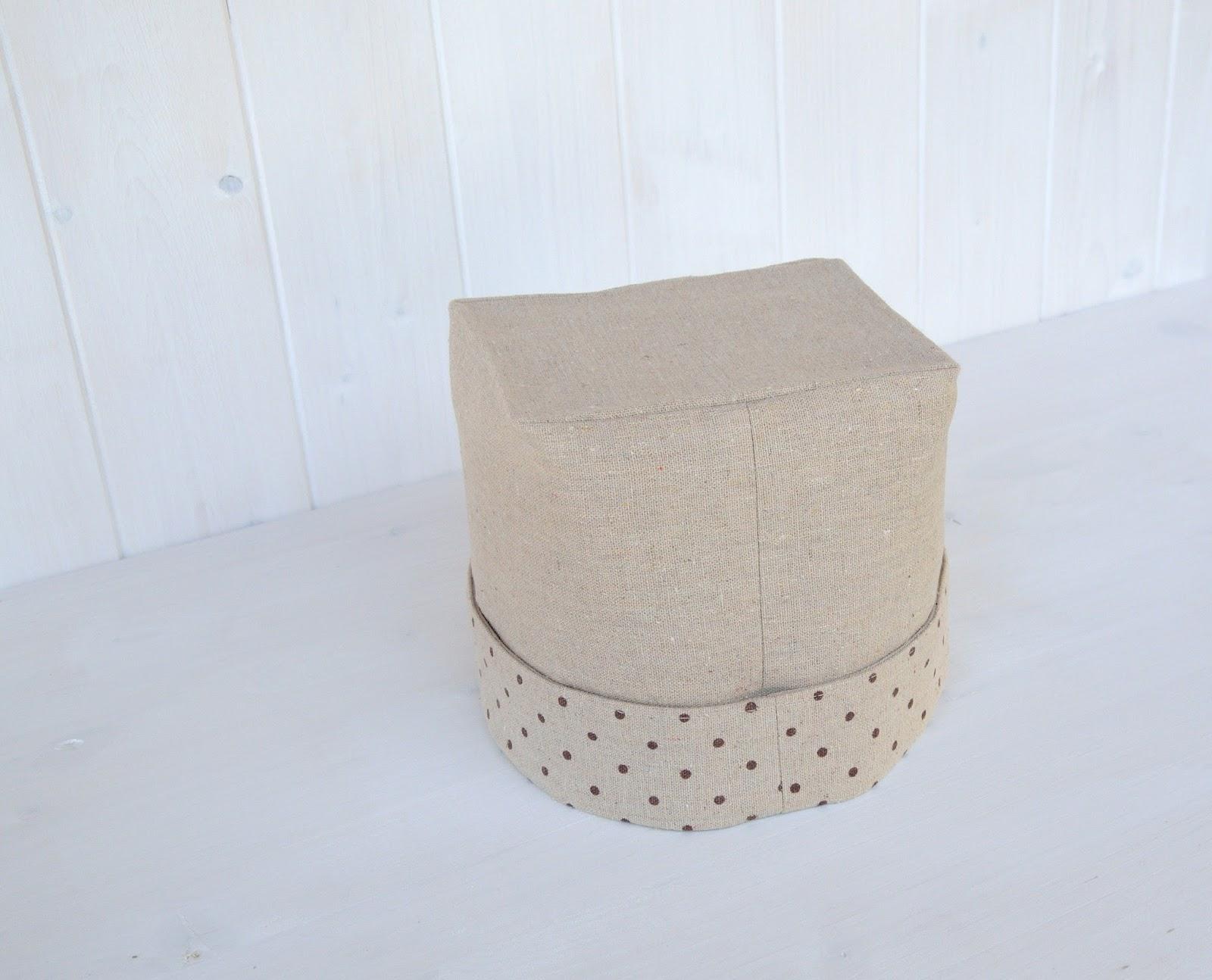 La soffitta dei ghiri cestini di stoffa fai da te for Cestini fai da te
