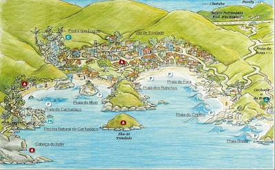 Mapa de Trindade - RJ