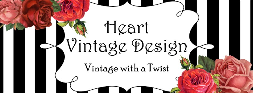 Heart Vintage Design