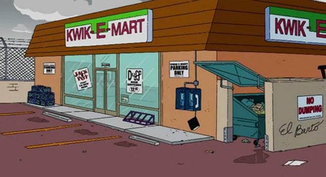 Kwik E Mart - Los Simpsons