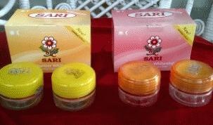 Cream Sari Whitening Asli BPOM harga murah
