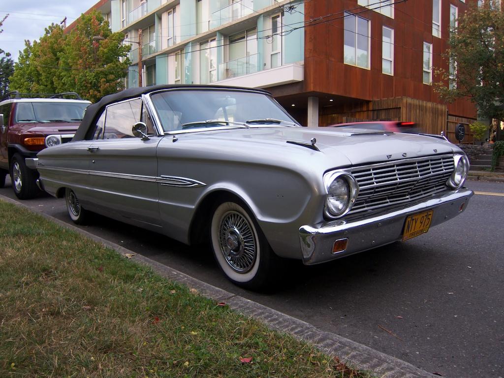 1963 ford falcon futura convertible parts