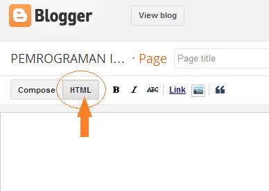 Membuat Sitemap / Daftar Isi Artikel di Halaman Blogger
