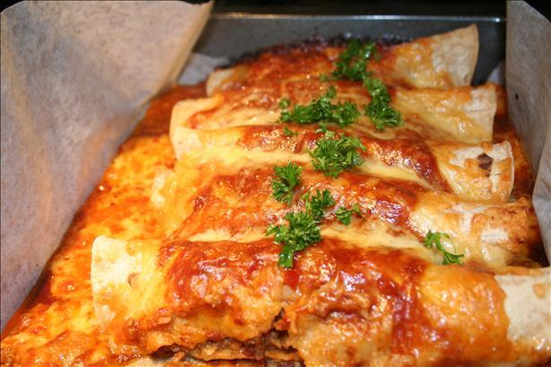 Sasaki Time: Easy Enchiladas (Beef or Chicken) Recipe!