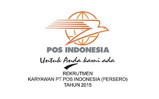 Lowongan Kerja PT.Pos Indonesia 2015