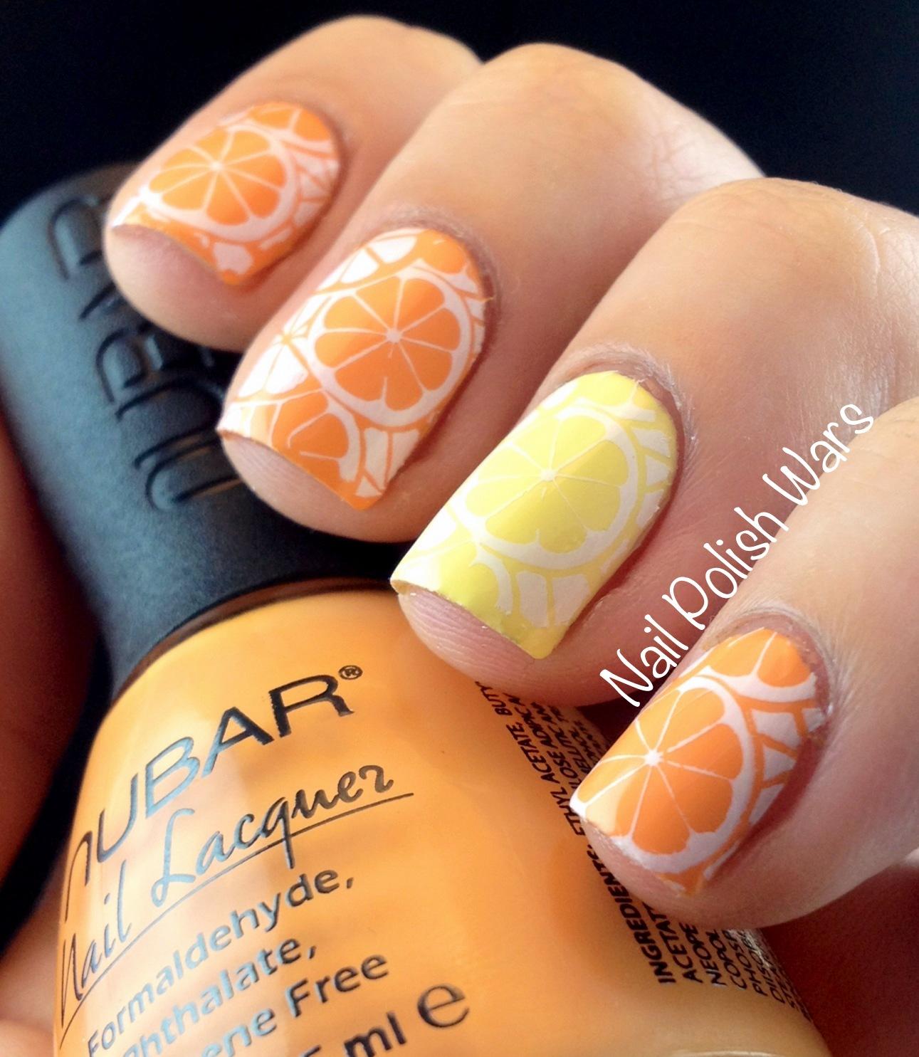 Самые фруктовые дизайны ногтей