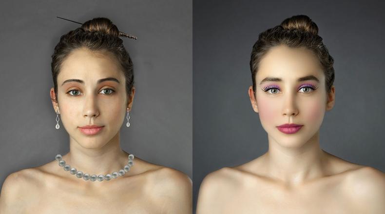 Mujer envió su retrato a más de 25 países para comparar sus diferentes estándares de belleza