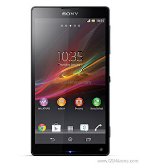 Full specs of Sony Xperia ZL