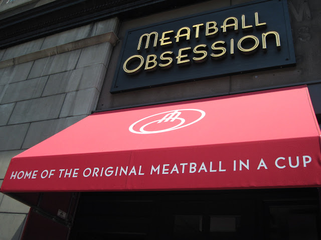 Meatballs in a cup are a treat for anyone dining in New York