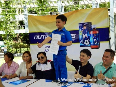 Nutri10Plus,Alonzo Muhlach,Alonzo Muhlach contract signing,Niño Muhlach