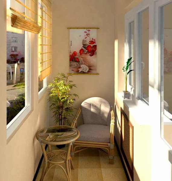 Decorate Apartment Balcony Ideas