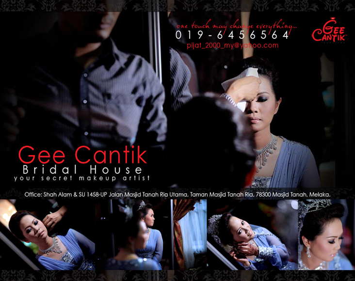 Makeup Artist - Gee Cantik