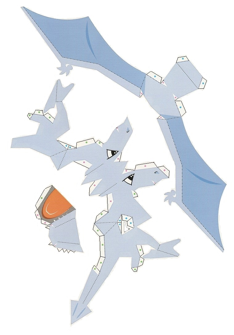Pokemon Papercraft Instructions