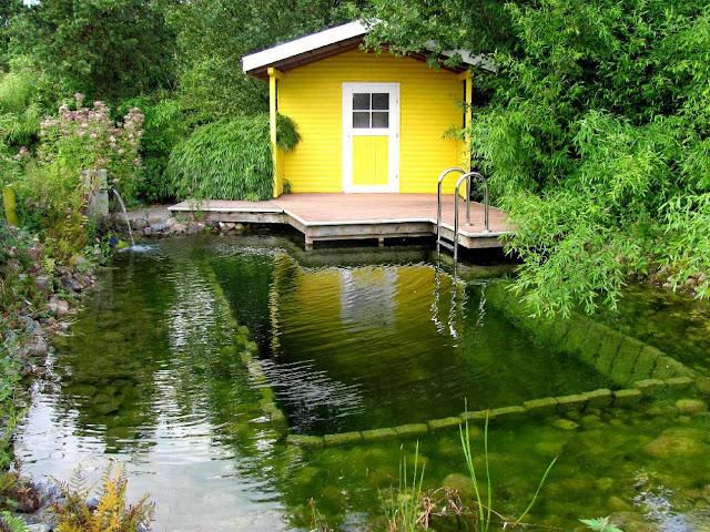 Garten Anders Der Wellnessgarten Whirlpool Sauna Schwimmteich Co