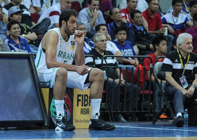 FIBA Asia Hamed Haddadi