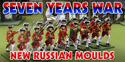 Seven Years War Russian Release of Moulds by Prince August
