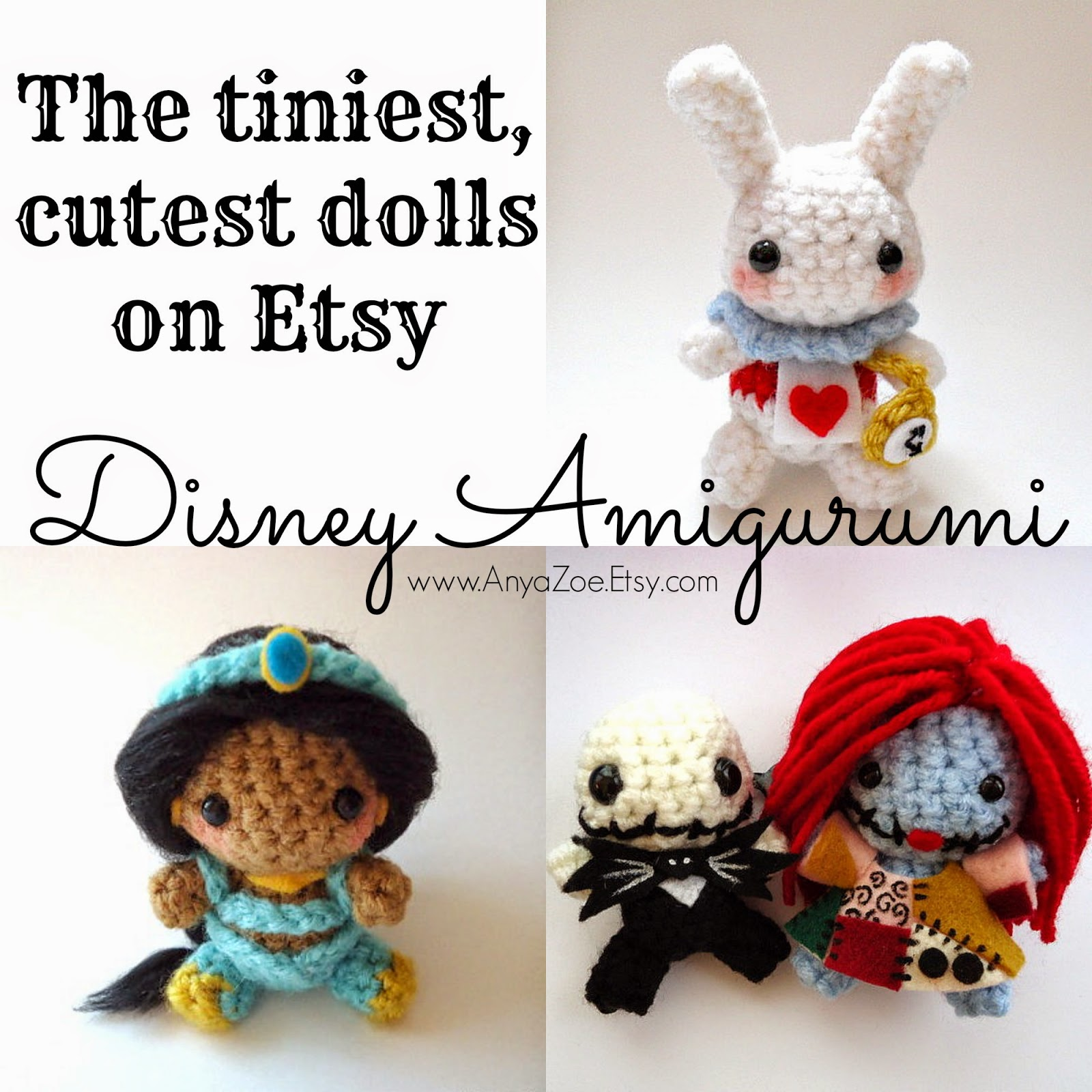 Disney Sisters: Disney Amigurumi: 22 Tiny Adorable Dolls ...