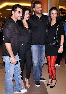 Salman, Aamir and Sonakhi at Dabangg 2 premier