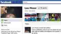 Facebook de Messi Facebook oficial de Lionel Messi