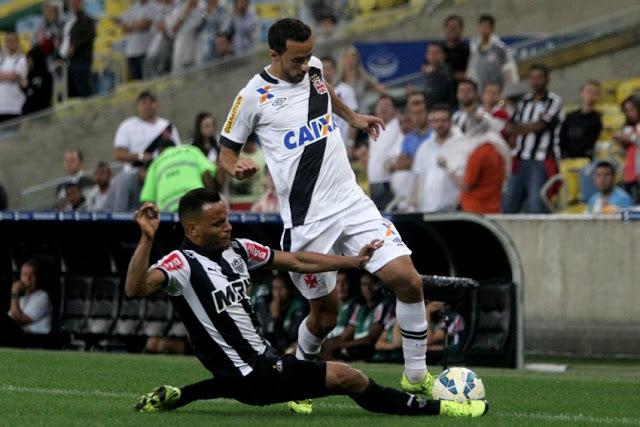 Apesar da derrota, o Vasco encerrou seu jejum de gols no Brasileirão (foto: Paulo Fernandes/Vasco)