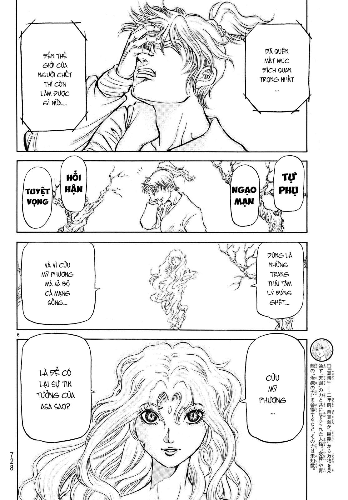 Ryuuroden chu be rong chap 265 trang 5 manga24h