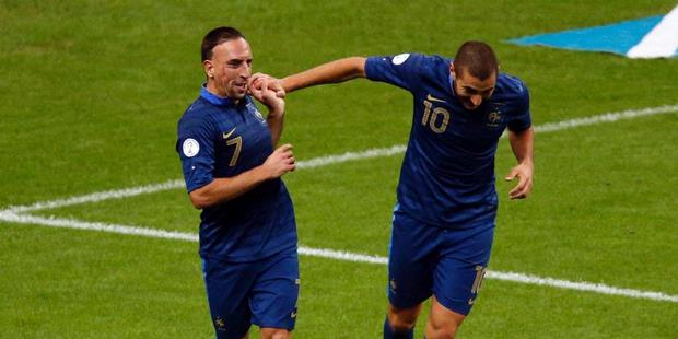 Ribery and Benzema France