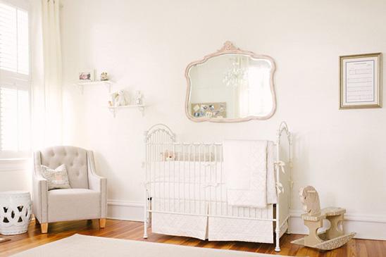 Bebê com Estilo Quarto de bebê clássico