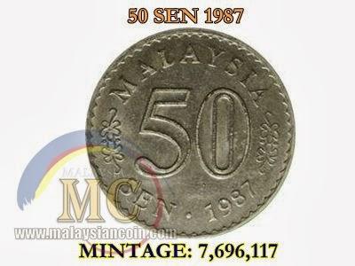 50 sen 1987