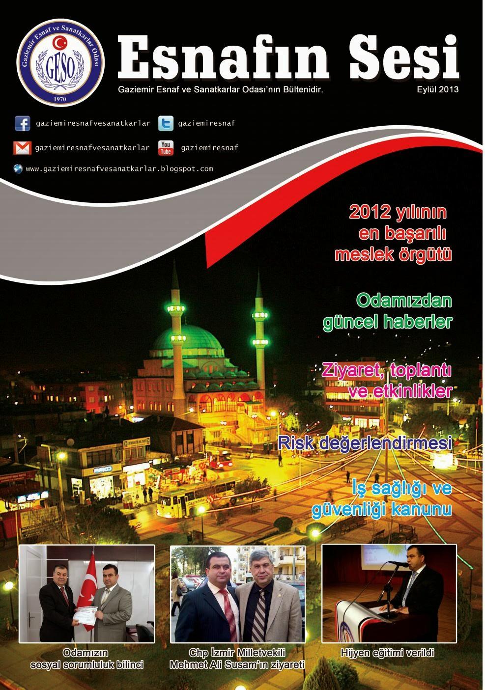 ESNAFIN SESİ - EYLÜL 2013