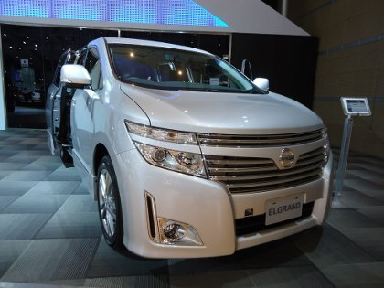 Nissan Elgrand 2500cc Comes to Indonesia