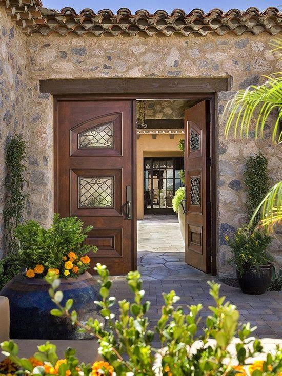 Fachadas de casas mediterranea i for Fachadas rusticas para casas