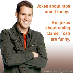 joke about raping Daniel Tosh