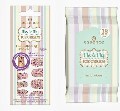 essence me & my ice cream – nail topping sticker