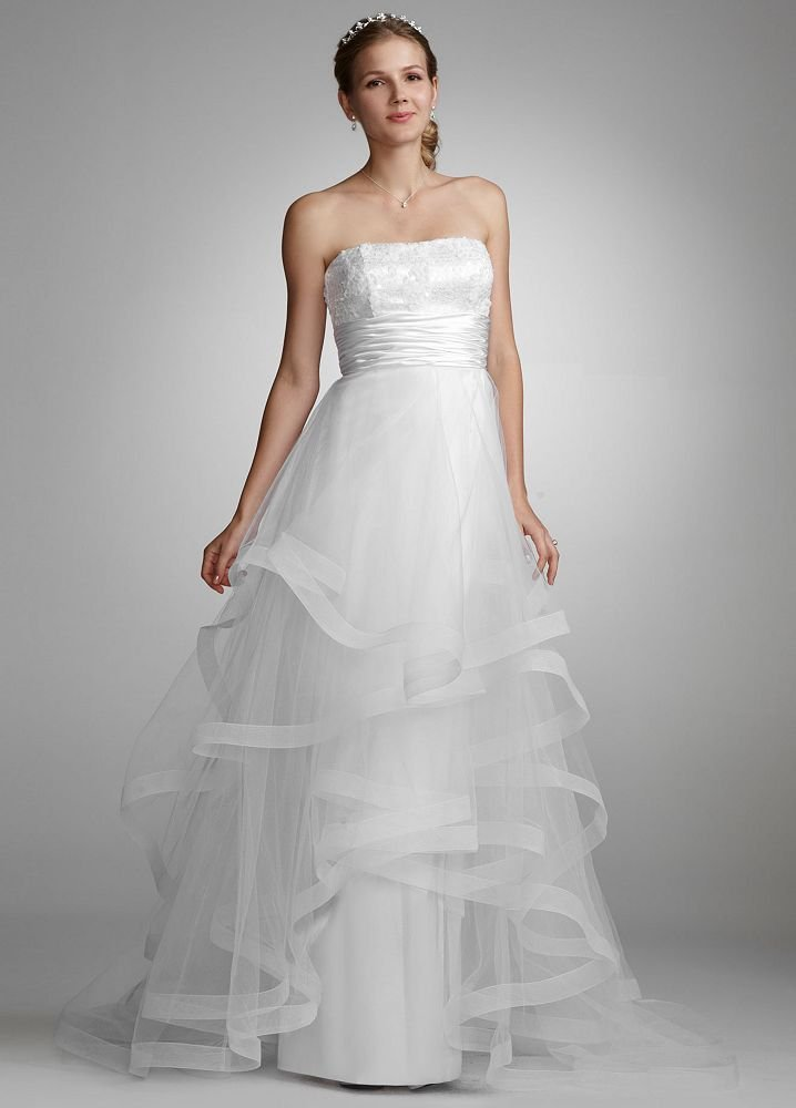 Davids bridal wedding dresses for Wedding dress david bridal