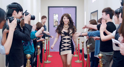 Ailee I'll Show You red carpet