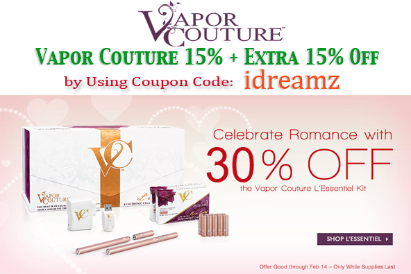 E cigarette coupon code