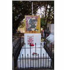 MAUSOLEO DE SALVADOR CAYETANO CARPIO COMANDANTE MARCIAL ESTA EN SANTA TECLA,EL SALVADOR
