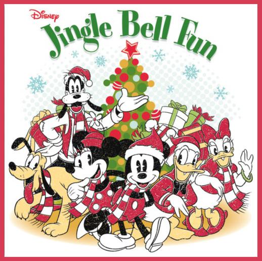 disney jingle bell fun christmas holiday music 2012 mickey goofy - Disney Christmas Music