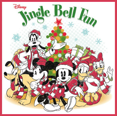 Disney Jingle Bell Fun Christmas Holiday Music 2012 Mickey Goofy