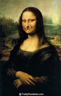 Gambar Monalisa Terlucu