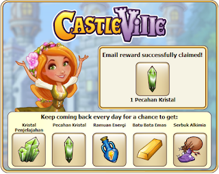get your CastleVille+email+reward
