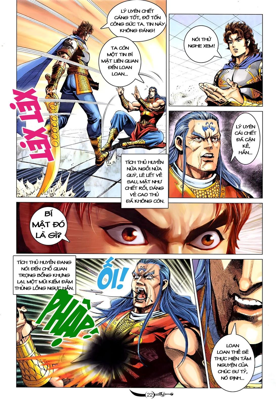 Đại Đường Song Long Truyện chap 218 - Trang 24