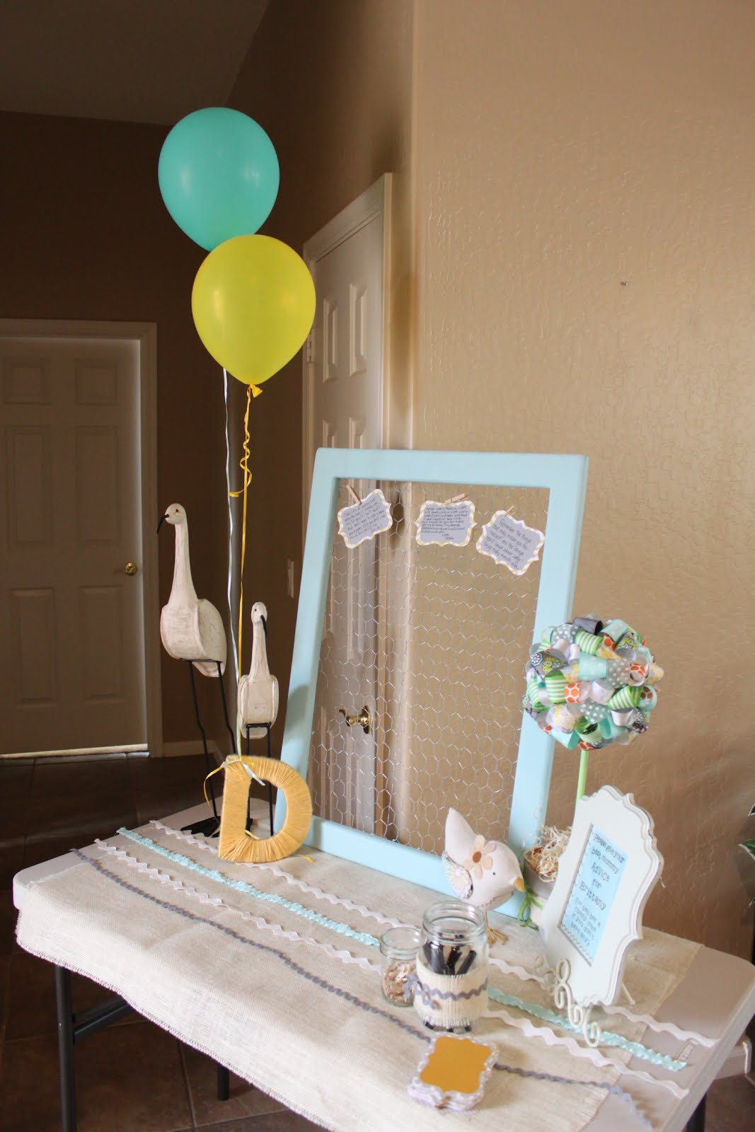 celebrate life everyday bow tie themed baby shower