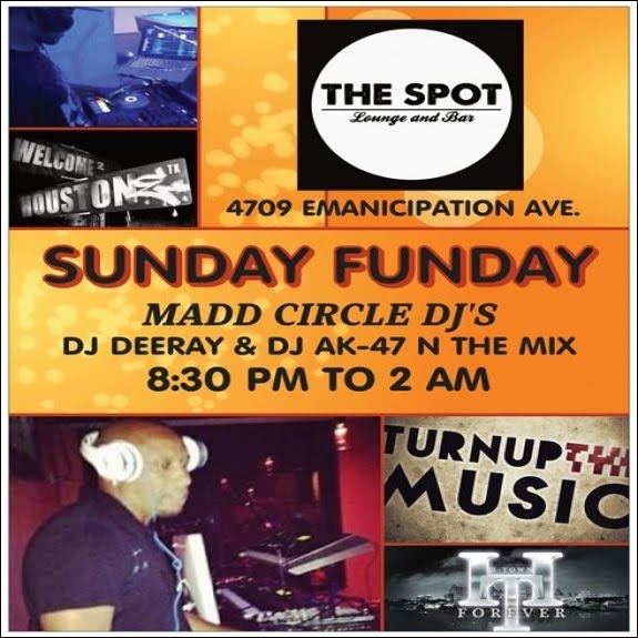 WE TURN UP EVERY SUNDAY AT THE SPOT