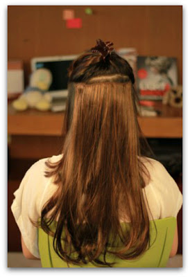 Tutorial Cara Praktis Memasang Hair Clip On Extension Sendiri 2014