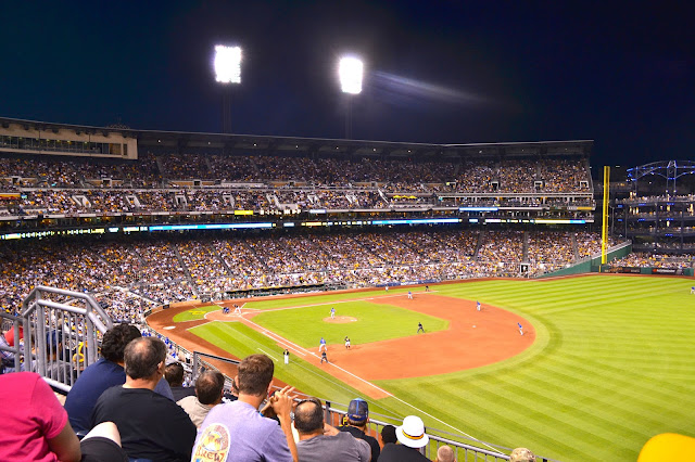 If you happen to be in Pittsburgh during baseball season and the Pirates are playing the home field, you must go to a game. #kidsburgh #lovepgh
