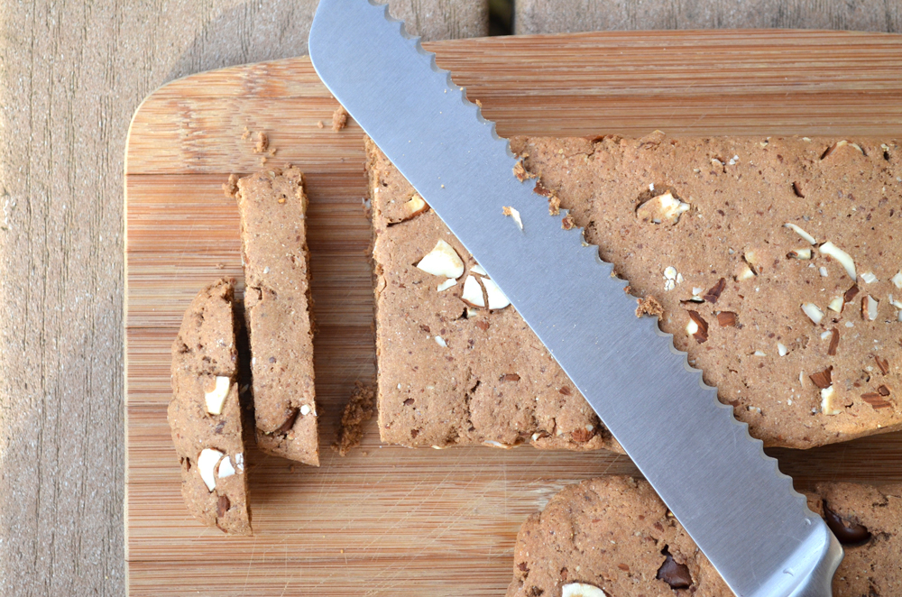 Gluten Free Chocolate Almond Biscotti - Fit Foodie Finds