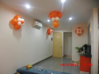 dekorasi balon gate BANK BNI 2